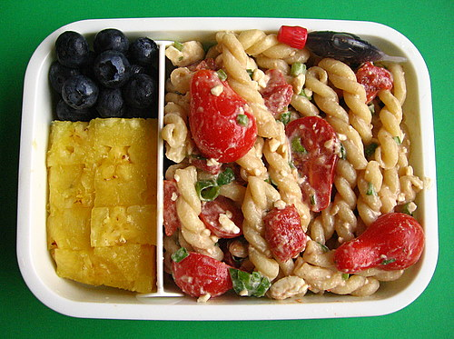 Pasta salad box lunches