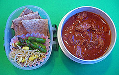 Chili Colorado lunch for preschooler