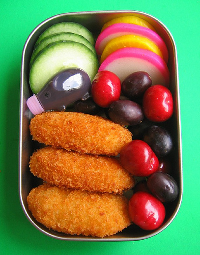 Croquette lunch