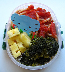 Pineapple lunch for toddler