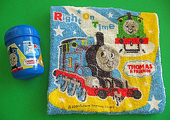 Thomas the Tank Engine oshibori hand towel