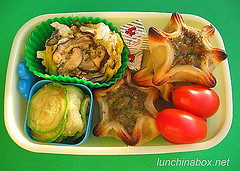 Appetizer pastry bento lunch for preschooler #2
