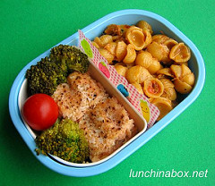 Pulled pork mac & cheese bento lunch