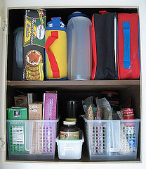 After: Above organized pantry 3