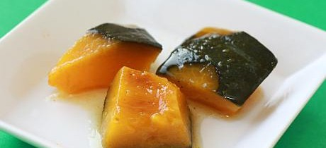Simmered kabocha recipe