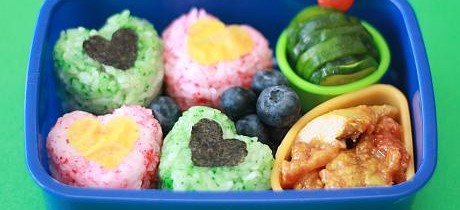 Valentine's bento lunch